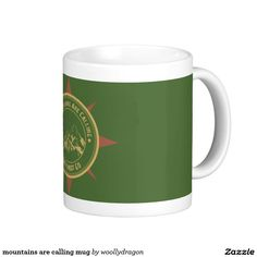 mountains are calling mug