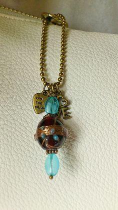 Handmade purse charm / purse accessories / by CharmsAnTreasures