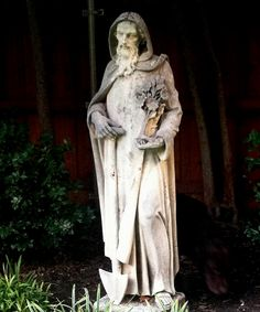 St Fiacre from Paris to my garden