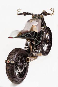 KTM Duke 200 by Mean Green Customs
