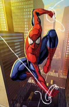 """kamisamafr: """"Spider-Man par Royce Southerland """""""