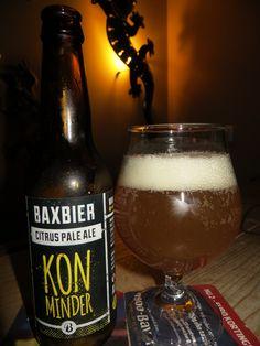 Bax Bier Kon Minder citrus pale ale 5%