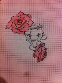 Rose e diamante