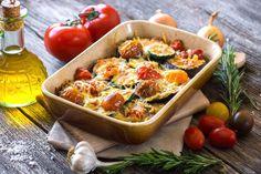 Gemüse satt: Bei diesem Low-Carb-Gratin dürfen sie gerne zwei Mal zugreifen.