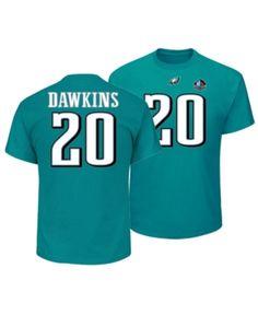 Majestic Men s Brian Dawkins Philadelphia Eagles Hall of Fame Eligible  Receiver Triple Peak T-Shirt - Green S 7157b13a9