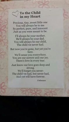To our precious Adalyn. We are forever your mommy and daddy!