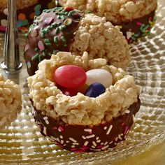 Crispy Rice Easter Nests - The Pampered Chef™