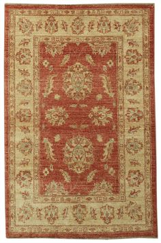 This beautiful Handmade Knotted Rectangular rug is approximately 2 x 4 New Contemporary area rug from our large collection of handmade area rugs with Persian Sultanabad style from Pakistan with Wool