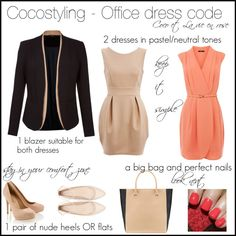 """""""Cocostyling - Office dress code 1"""" by cocolavieenrose on Polyvore"""