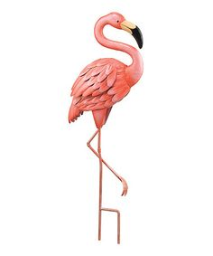 Another great find on #zulily! Flamingo Garden Stake #zulilyfinds