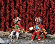 Red peppers, Yunnan, China