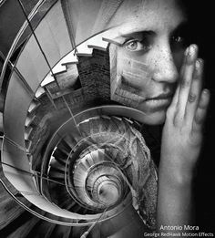 Antonio Mora motion graphic effects by George RedHawk