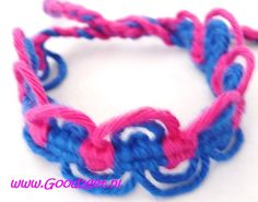 Bright colour bracelet € 3,00 www.Good2get.nl