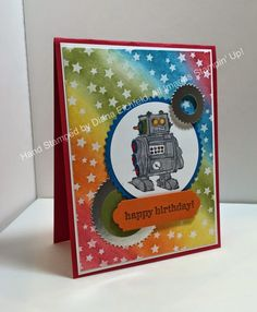 Stampin' Fun with Diana: Stylin' Stampin' INKspiration Masculine Monday: Boys will be Boys