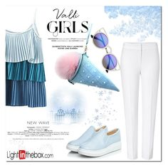 """Sky"" by nerma10 ❤ liked on Polyvore featuring moda, ESCADA y COII"