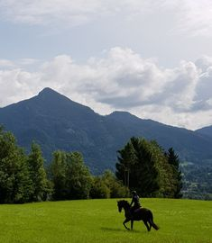 Most beautiful spot to go horse riding