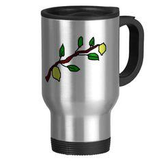 lemon twig coffee mugs