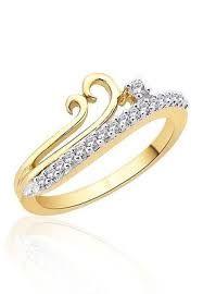 Elliena Diamond ring Made in real diamond