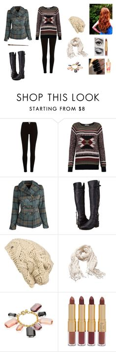 """""""Incendio #9"""" by jazmine-bowman on Polyvore featuring Autumn Cashmere, Dollhouse, UGG Collection, Ichi, Witchery, Amanda Pearl, tarte, Floss Gloss and Victoria's Secret"""
