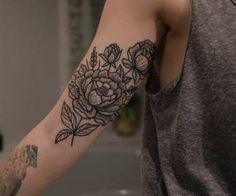 flowers on arm...so beautiful