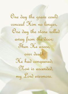 Yes, Praise God He arose!