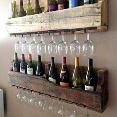 Bar Decorating with Pallets | DIY Pallet Bar! | DIY decorating