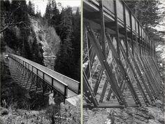 Traversinersteg, Graubünden (CH) | Jürg Conzett | Timber Bridge