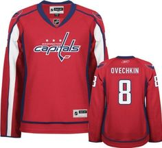Reebok Washington Capitals Alex Ovechkin Women's Premier Home Jersey Medium Reebok. $104.95. Support your team on and off the ice with this Reebok® Washington Capitals Alex Ovechkin women's premier home jersey! This high-quality premier polyester jersey is slightly fitted to complement your feminine shape and designed with official player and team graphics screen-printed on the chest, back, sleeves and shoulders. Buy your Alex Ovechkin number 8 Home jersey from...