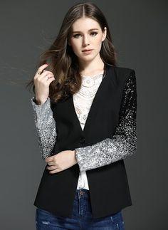 As Picture Short Long Sleeve Turtleneck Coats & Jackets