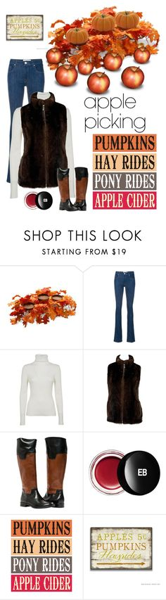 """""""Apple Picking"""" by kotnourka ❤ liked on Polyvore featuring National Tree Company, Victoria, Victoria Beckham, 3.1 Phillip Lim and Edward Bess"""