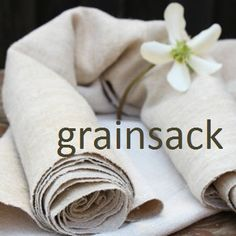 ANTIQUE LINEN STORE Antikes Flucher GmbH by grainsack on Easy~ a way to get the sturdier (European) grainsacks to use in decorating.
