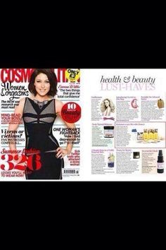 Our Clean 9 product of the month, Even Cosmo are saying it's a must have so who are we to argue, don't forget our special discount on the Nutri-Lean programme with the purchase of Clean 9 throughout April, only available through Jaydons Boutique via our online shop under the heading of Health & Wellbeing x  www.jaydons-boutique.co.uk