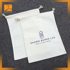 cotton dust bag Bag Packaging, Packaging Design, Custom Logos, Shopping Bag, Dust Bag, Prints, How To Make, Cotton, Bags