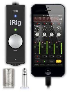 IK Multimedia IRig Pro IOS Audio/Midi Interface