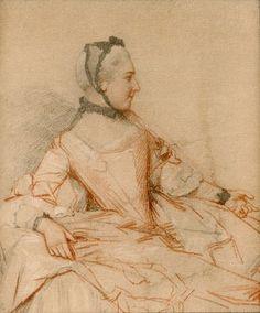 Jean Etienne Liotard Bildnis einer Dame