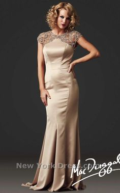 Formal gown in gold