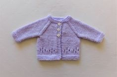 Marianna's Lazy Daisy Days: GRACE Baby Cardigan Jacket