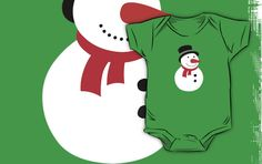 Christmas Snow man Baby One piece Suite. Do you love Christmas like i do? If so you will love this Christmas snow man one piece suite. This Christmas snow man one piece suite is sure to get you in the Christmas spirit. Or why not give this Christmas snow man one piece suite to somebody as a different gift?