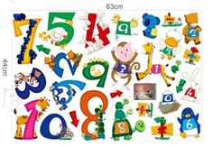 Wall Stickers for Kids Stick Wall Decals Wall Decals Decoration Wall Sticker Decal - Numbers by bigbvg, http://www.amazon.com/dp/B0088O54PG/ref=cm_sw_r_pi_dp_Nhg0pb1K13K7R