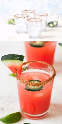 Watermelon Shots, Watermelon Cocktail, Watermelon Smoothies, Watermelon Margarita, Watermelon Recipes, Blackberry Margarita, Frozen Watermelon, Tequila Drinks, Fun Drinks