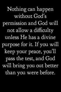 god has a plan and he will not fail us