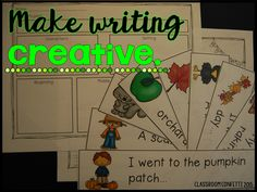 Classroom Confetti: 5 Ways to Make Writing FUN! Narrative, opinion, informative and how to writing prompts using the writing process! Free ideas to make writing fun in your classroom! All About Me Activities, Back To School Activities, Language Arts Worksheets, School Worksheets, Teaching Writing, Teaching Ideas, 2nd Grade Writing, Teacher Boards, Creative Writing