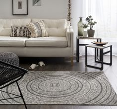 Buy Rustic Circles Rug at Carpetright, the UK's leading carpet, flooring and rug retailer. Buy from our new range of great value online exclusive rugs today. Living Room, Furniture, Room, Home Decor, Rugs, Flooring, Contemporary Rug, Couch, Circle Rug