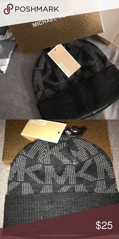 56b872dae863e brand new michael kors hat brand new michael kors hat with tags still  attached perfect condition