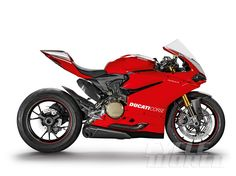 EICMA 2014 FIRST LOOK: 2015 Ducati Panigale 1299 | Studio right-side view - 2015 Ducati Panigale R
