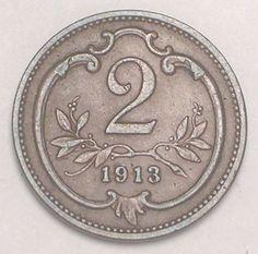1913 Austro-Hungarian coin