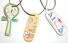 FABRIQUER DES AMULETTES ÉGYPTIENNES
