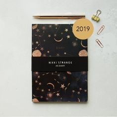 Cloudy Stars Mid Year Diary by Nikki strange, the perfect gift for Explore more unique gifts in our curated marketplace. A5 Diary, Diary Planner, Malta, Bujo, Gifts For Wife, Gifts For Her, Dates, Star Constellations, Book Jewelry