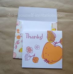 Mrs Peabod - Just Peachy Free Printable Thank You Cards