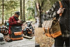 """Pack Animal, zu deutsch Lasttier, heißt eine ganz frische Marke aus den USA, die hochwertige Gepäcktaschen fürs Motorrad fertigt. Die sind nicht nur praktisch, um alles Wichtige bei der Fahrt auf dem Bike dabei zu haben, die """"Pack Animal""""-Taschen sind auch"""